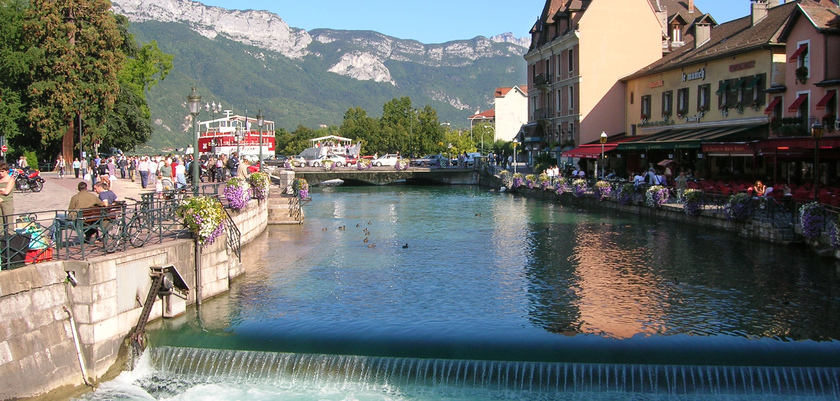 canals in Talloires, France.jpg